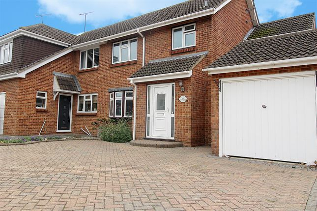 Thumbnail Semi-detached house for sale in Bartley Road, Benfleet