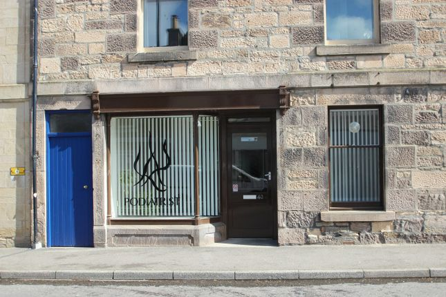Commercial property to let in High Street, Fochabers