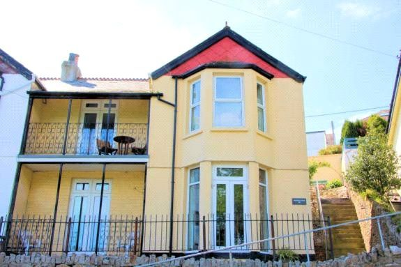 Thumbnail Semi-detached house for sale in Beech Terrace, West Looe, Cornwall