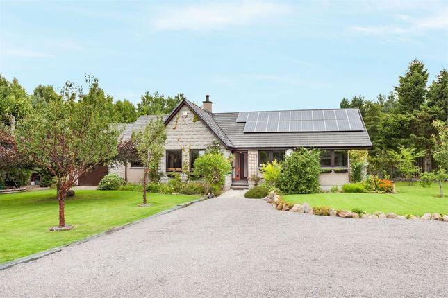 Thumbnail Detached bungalow for sale in Finzean, Finzean, Banchory, Aberdeenshire