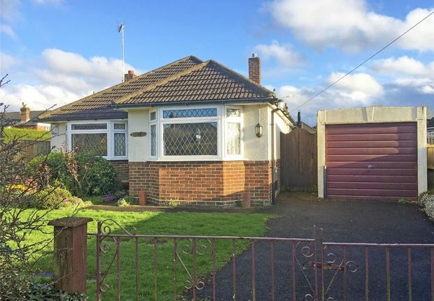 Thumbnail Detached bungalow for sale in Fieldway, Ringwood