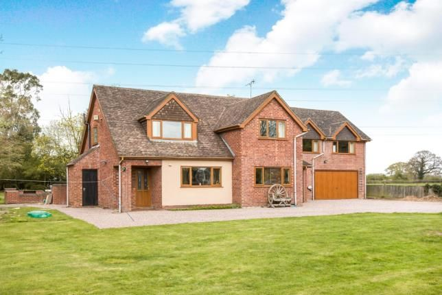 Thumbnail Detached house for sale in Moss Lane, Warmingham, Crewe, Cheshire