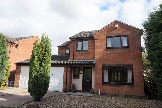 Thumbnail Detached house for sale in Willow Close, Ulceby