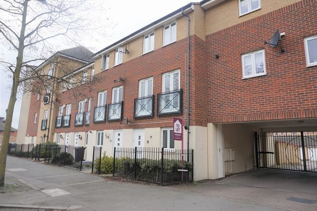 Thumbnail Town house to rent in Eagle Way, Hampton Centre, Peterborough
