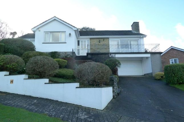 Thumbnail Detached bungalow for sale in Bishops Rise, Torquay, Devon