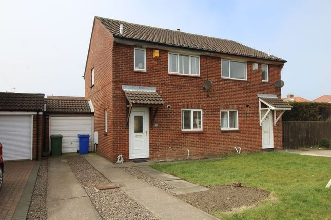 Thumbnail Semi-detached house for sale in Banbury Way, Blyth