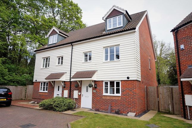 Thumbnail Semi-detached house for sale in The Farrows, Maidstone