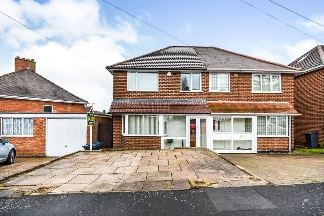 Thumbnail Semi-detached house for sale in Brackenfield Road, Great Barr, Birmingham