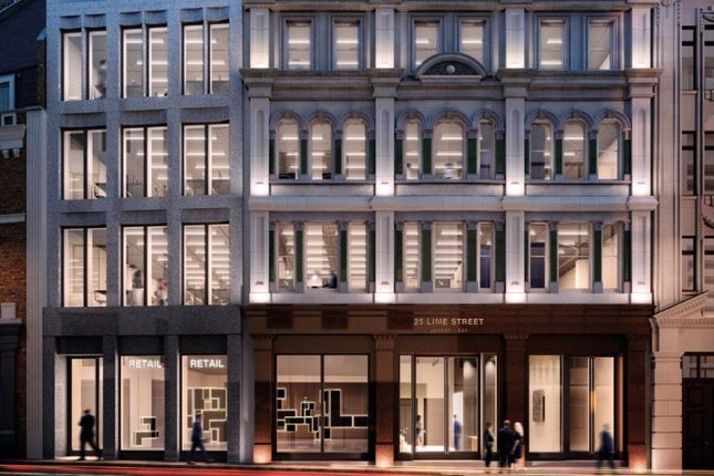 Thumbnail Office for sale in 25 Lime Street, London