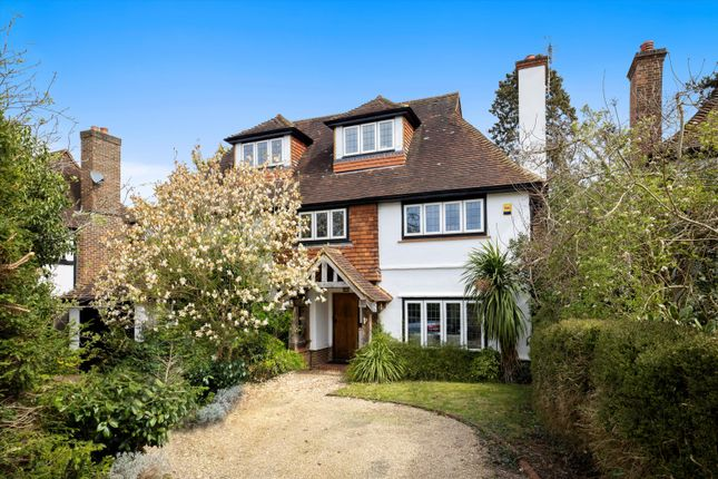 Thumbnail Detached house for sale in Meads Road, Guildford, Surrey