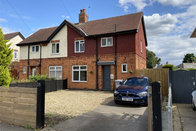 Semi-detached house for sale in Cleveland Square, Newark, Nottinghamshire.