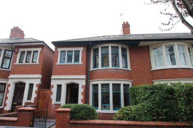 Thumbnail Semi-detached house to rent in Princes Street, Roath, Cardiff