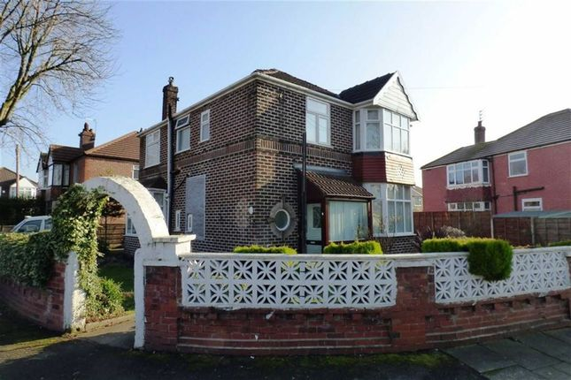 Thumbnail Detached house for sale in Strathmore Avenue, Chorlton Cum Hardy, Manchester