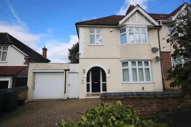 Thumbnail Semi-detached house to rent in Ashurst Road, Cockfosters, Barnet