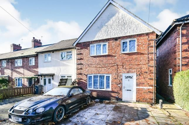 Thumbnail End terrace house for sale in Alleyne Road, Erdington, Birmingham, West Midlands