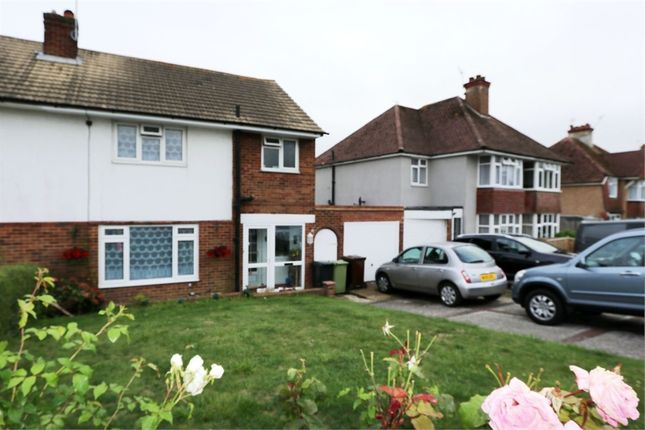 Thumbnail Semi-detached house for sale in Woodsgate Park, Bexhill-On-Sea, East Sussex