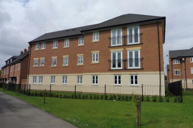 Thumbnail Flat for sale in Coleridge Way, Oakham