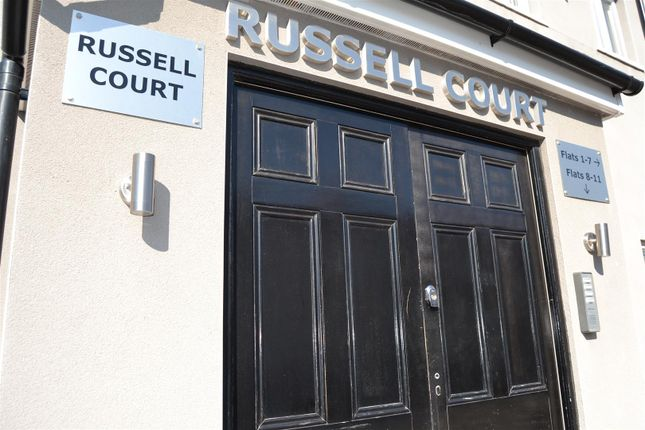 Thumbnail Flat to rent in Russell Court, Russell Street, Cardiff