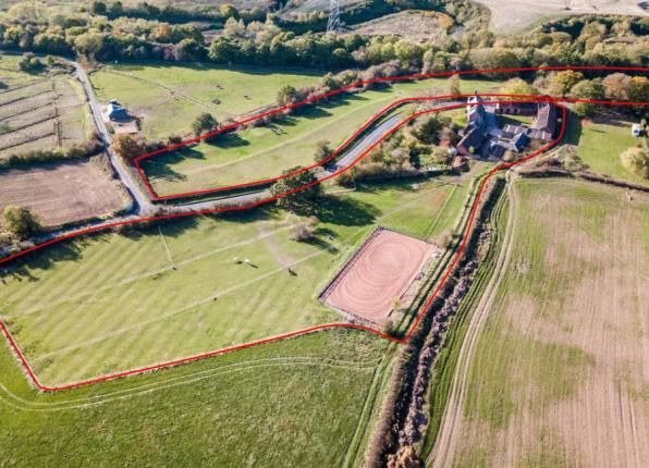 Thumbnail Equestrian property for sale in Hague Lane, Renishaw, Sheffield, Derbyshire