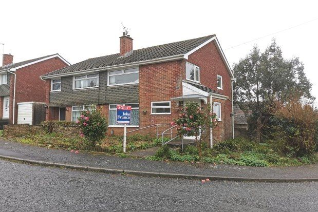 Thumbnail Semi-detached house to rent in Cae Crwn, Swansea