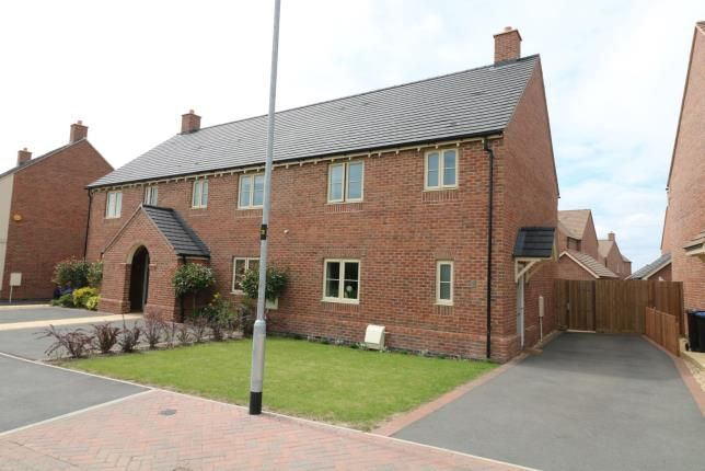 Thumbnail Semi-detached house for sale in Bailey Close, Kibworth Harcourt, Leicester, Leicestershire