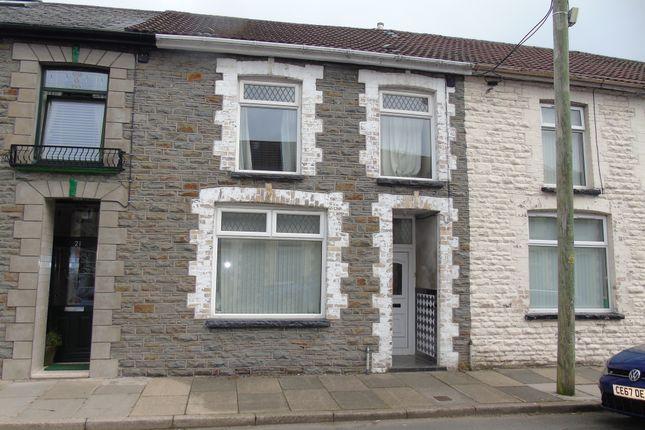Thumbnail Terraced house for sale in Thompson Street, Ynysybwl, Pontypridd