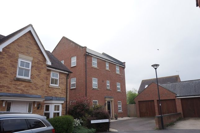 Thumbnail Detached house to rent in Stackpole Crescent, Blunsdon, Swindon
