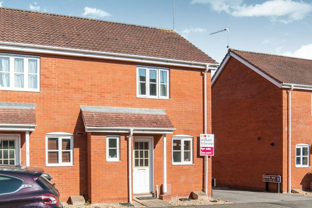 Thumbnail End terrace house for sale in Ensign Way, Diss