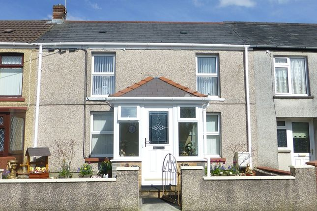 Thumbnail Terraced house for sale in Tirycoed Road, Glanamman, Ammanford, Carmarthenshire.