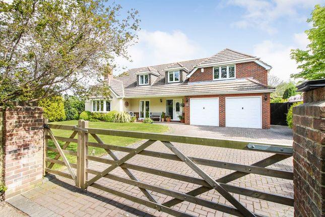 Thumbnail Detached house for sale in Greenaway Lane, Warsash, Southampton