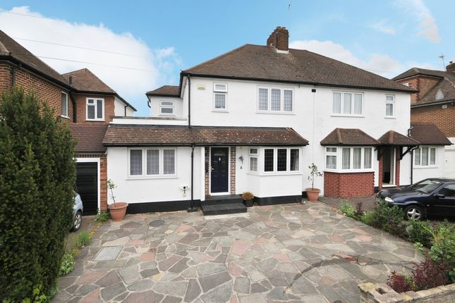 Thumbnail Semi-detached house for sale in East Way, Hayes, Bromley