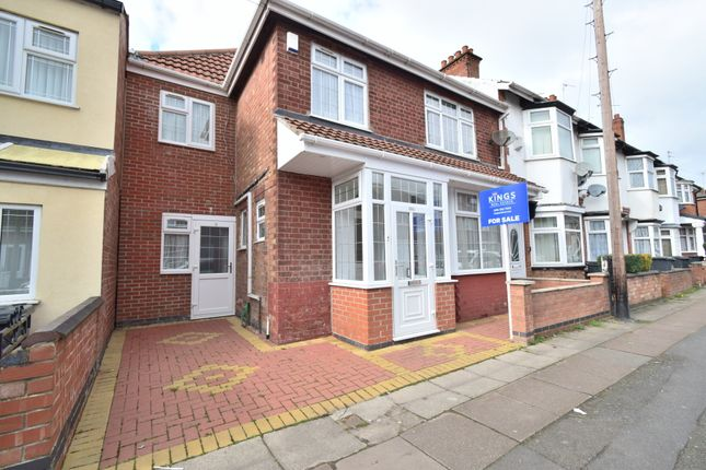 Thumbnail Semi-detached house for sale in Nansen Road, North Evington, Leicester