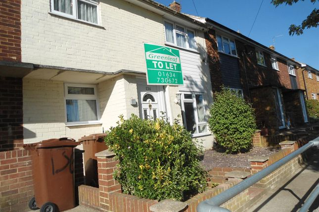 Thumbnail Terraced house to rent in Poplar Road, Strood, Rochester
