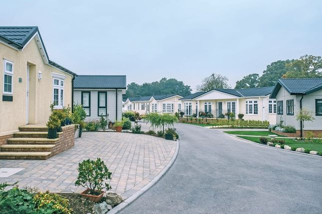 Thumbnail Mobile/park home for sale in New Lane, Milford On Sea, Lymington