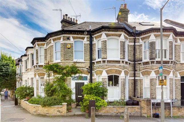Exterior of Parma Crescent, Battersea, London SW11