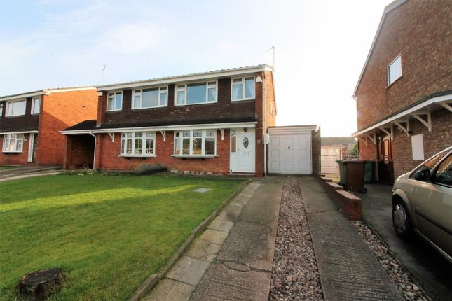Thumbnail Semi-detached house for sale in Overdale Drive, Walsall