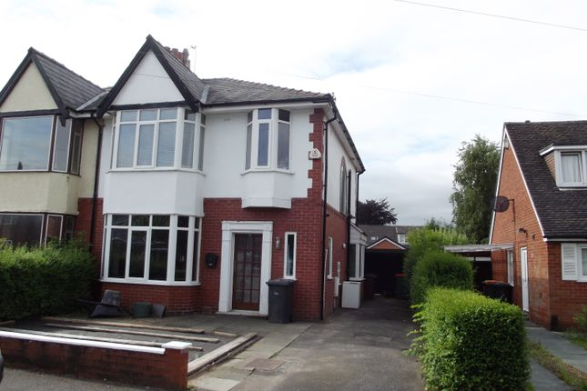 Thumbnail Semi-detached house to rent in Westway, Fulwood, Preston