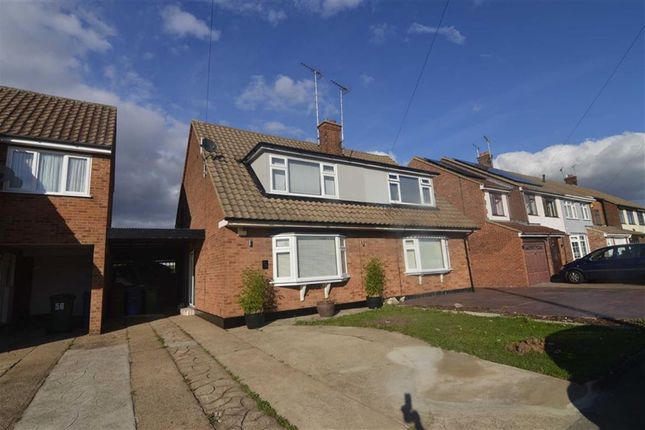 Thumbnail Semi-detached house for sale in Wheatley Road, Corringham, Essex