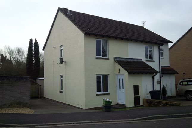 Thumbnail Semi-detached house to rent in Sheldon Drive, Wells
