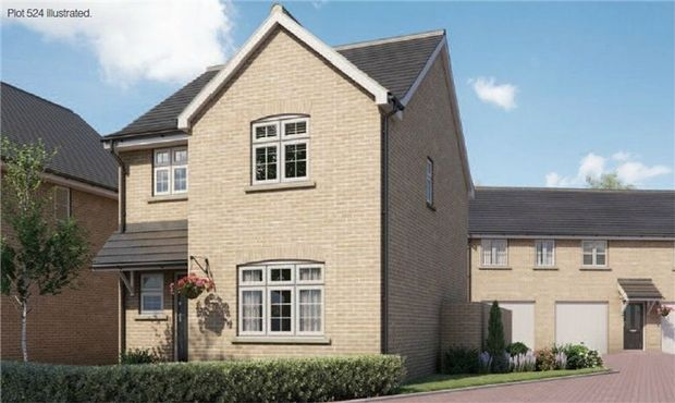 Thumbnail Detached house for sale in The Parnall At Chiswell Place, New Cardington, Bedfordshire