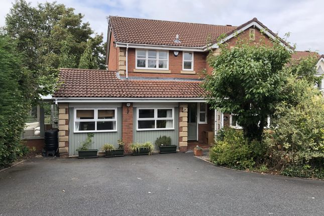 Thumbnail Detached house to rent in The Foxes, Sutton Heights, Telford