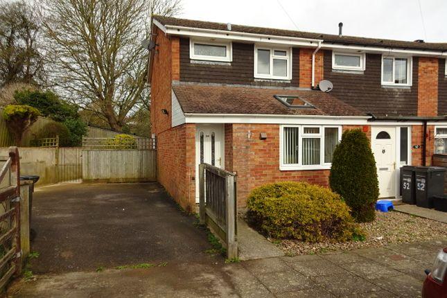 Thumbnail End terrace house to rent in Sandringham Road, Yeovil, Somerset