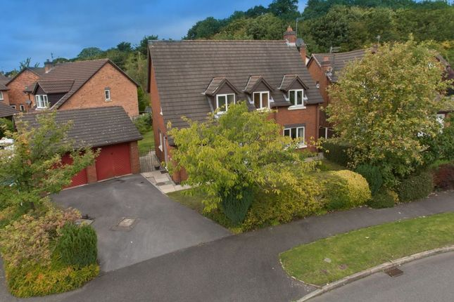 Thumbnail Detached house for sale in Ennerdale Drive, Congleton