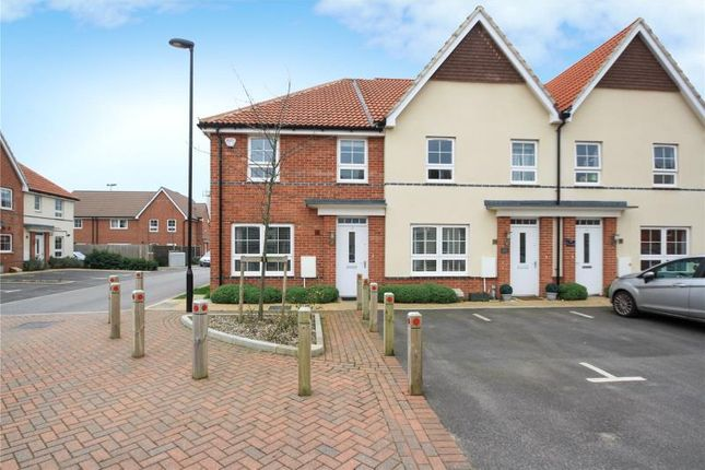Thumbnail End terrace house for sale in Puttick Drive, Worthing, West Sussex