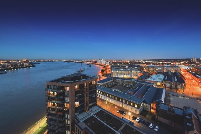 Thumbnail Flat for sale in Waterfront I, Royal Arsenal Riverside, London