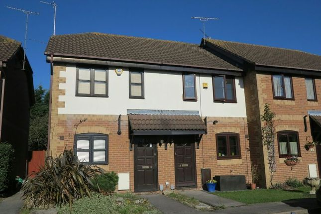 Thumbnail Terraced house to rent in Temple Mews, Woodley, Reading