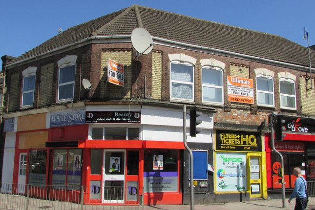Thumbnail Commercial property for sale in Mill Street, Luton, Bedfordshire