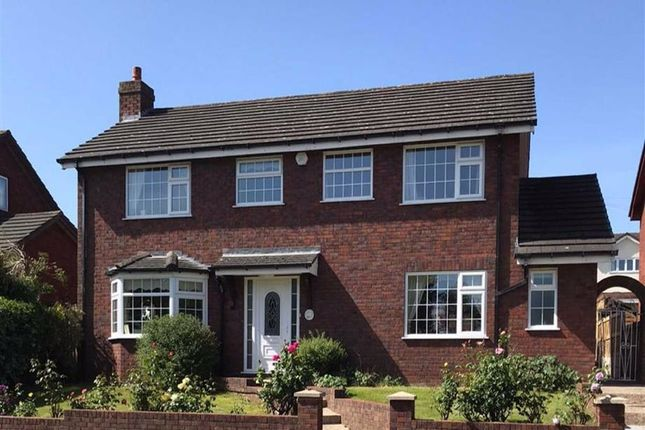 Thumbnail Detached house for sale in Coed Onn Road, Fint, Flintshire