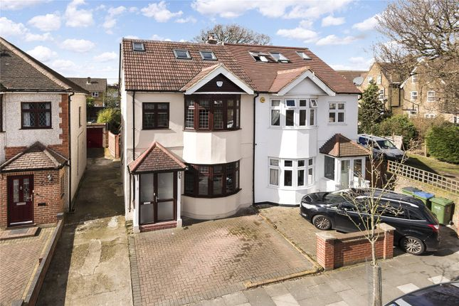 Thumbnail Semi-detached house for sale in Larchwood Road, New Eltham, London