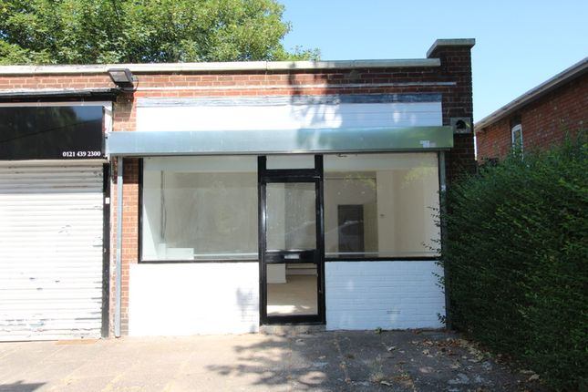 Thumbnail Retail premises to let in Brigfield Road, Birmingham